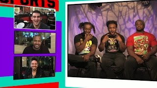 Download WWE's New Day: No Way In Hell We'd Fight In UFC ... We're Too Damn Pretty! | TMZ Sports Video
