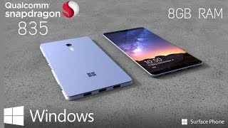 Download Microsoft Surface Phone - 8GB of RAM and Snapdragon 835 inside (Rumor) Video