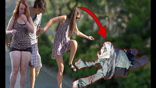 Download SCARY HALLOWEEN CREEPING GHOST PRANK 👻 - Zombie Haunted - AWESOME REACTIONS Video