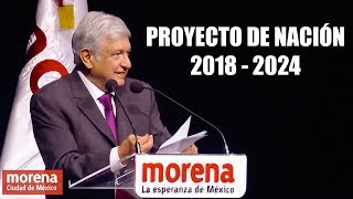 Download Discurso AMLO - Proyecto Alternativo de Nación 2018 - 2024 Video