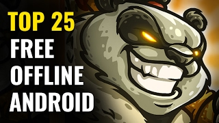 Download Top 25 FREE OFFLINE Android Games   No internet required Video