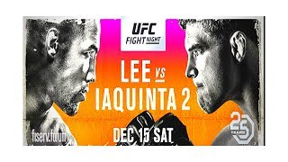 Download Al Iaquinta vs Kevin Lee 2 full fight card UFC on FOX 31 predictions and stream time Video