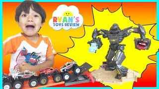 Download Hot Wheels Monster Jam Trucks Maximum Destruction Battle Trackset Video