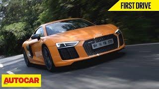 Download Audi R8 V10 Plus | First Drive | Autocar India Video