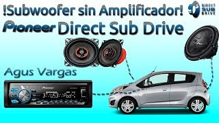 Download Conectar un subwoofer sin amplificador | Pioneer Direct Sub Drive | Instalacion y configuracion Video