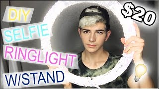 Download DIY Ring Light Tutorial | Under $20 W/STAND [Side By Side Comparison] Video