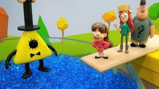 Download Gravity Falls toys. Dipper helps friends. Video