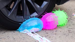 Download Crushing Satisfying Crunchy & Soft Things With Car - Slime, Orbeez, Squishy Video