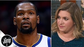 Download The Knicks were not prepared to offer Kevin Durant the full max - Ramona Shelburne | The Jump Video