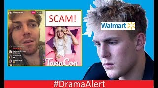 Download Jake Paul ROASTED by Walmart! #DramaAlert Shane Dawson vs TanaCon! Scam Exposed by Police! Video