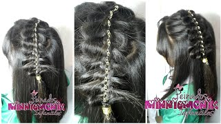Download Peinado De Trenza Con Cadena/peinados monik Video