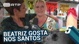 Download Beatriz Gosta nos Santos Populares | 5 Para a Meia-Noite | RTP Video