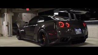 Download Full carbon fiber Nissan GT-R - Carbonzilla - lord of the wings Video