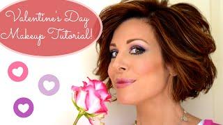 Download Pretty In Pink Valentine's Makeup Tutorial Video