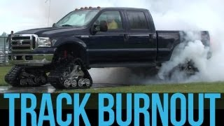 Download Mattracks - Ford F-350 Track Burn Out Video