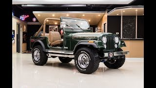 Download 1977 Jeep CJ7 For Sale Video