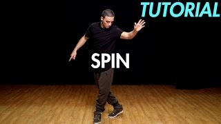 Download How to Spin (Hip Hop Dance Moves Tutorial) | Mihran Kirakosian Video