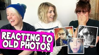 Download REACTING TO OLD PHOTOS (w/ HANNAH & MAMRIE) // Grace Helbig Video