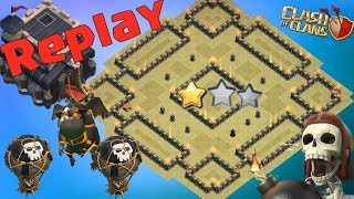 Download Th9 War Base 2019 Anti 2 Star With Replay Anti Lavaloon Anti Everything-Anti Valkyrie Anti 3 Star Video