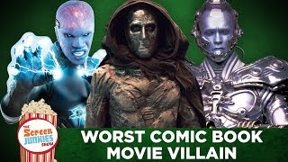 Download The Worst Comic Book Movie Villain Ever! Video