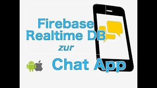Download Chat App mit Firebase für iOS & Android Video