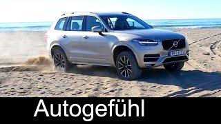 Download 2015/2016 Volvo XC90 D5 Diesel Momentum offroad sand, safety & crash test - Autogefühl Video
