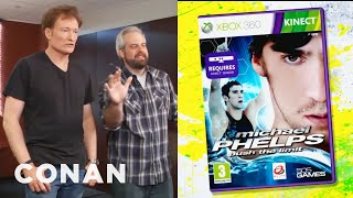 Download Clueless Gamer: Conan Reviews ″Michael Phelps: Push The Limit″ - CONAN on TBS Video