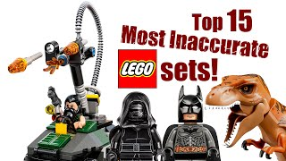 Download Top 15 Most Inaccurate LEGO Sets! Video