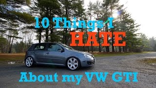 Download 10 Things I HATE About my Volkswagen GTI! Video