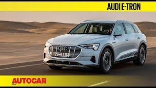 Download Audi e-tron all-electric SUV   First Drive Review   Autocar India Video