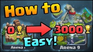 Download Clash Royale - How to get to Arena 9 Legendary Arena | Best F2P Tips, Strategy, and Decks! Video