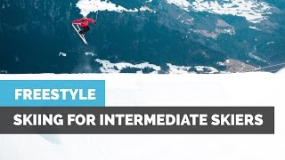Download INTERMEDIATE FREESTYLE SKIING   HOW TO 360 WITH GRABS, 270 & FRONT FLIP Video