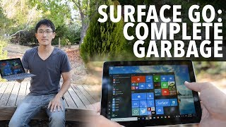 Download Surface Go - It's complete garbage. Don't buy this garbage. Video