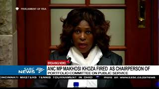 Download Parliament confirms axing of Makhosi Khoza Video