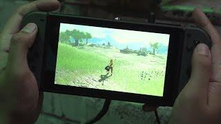 Download 10 Minutes of The Legend Zelda: Breath of the Wild in Handheld Mode Video