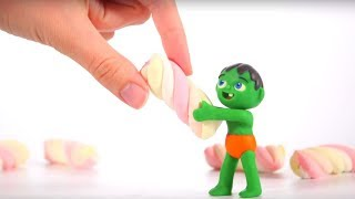 Download Tommy Builds A House With Candies 💕 Cartoons For Kids Video