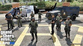 Download GTA 5 LSPDFR 0.3.1 - EPiSODE 305 - LET'S BE COPS - SHERIFF SWAT PATROL (GTA 5 PC POLICE MODS) Video