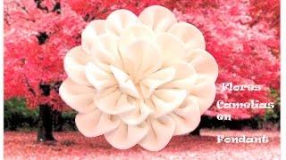 Download DIY Flores camelias en fondant DIY fondant flowers camellias Video