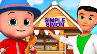 Download Simple Simon | Nursery Rhymes | Kids Songs For Children By Junior Squad Video