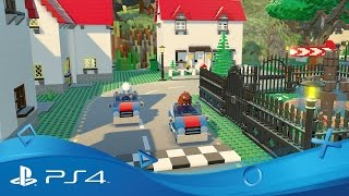 Download LEGO Worlds | Announce Trailer | PS4 Video