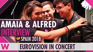 Download Amaia y Alfred (Spain 2018) Interview | Eurovision in Concert 2018 Video