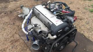 Download Свап комплект 1jz-gte vvt-i jzx100 chaser mark2 cresta Video