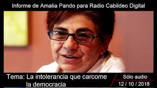 Download Amalia Pando| La intolerancia que carcome la democracia Video