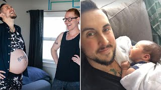 Download Transgender Man Gives Birth to Healthy Boy: 'He's a Big Baby' Video