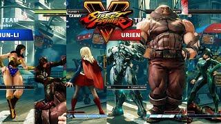 Download Street Fighter V AE Cammy/Rashid/Chun Li vs Urien/Abigail/Juri PC Mod Video