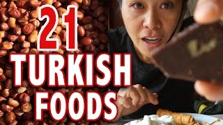 Download TOP 21 TURKISH FOODS | Istanbul Food Guide Video