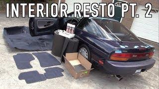 Download 240SX Interior Restoration Part 2: Installing New Carpet & Sound Deadening! Video