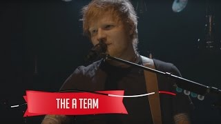 Download Ed Sheeran - The A Team (Live on the Honda Stage at the iHeartRadio Theater NY) Video