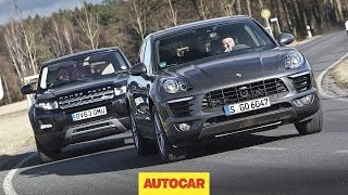 Download Porsche Macan vs Range Rover Evoque - one of these is the best small SUV in the world Video