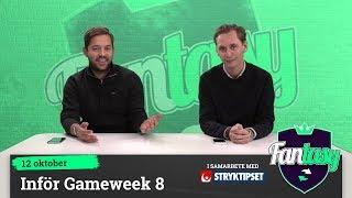 Download Fantasy: Inför Gameweek 8 Video